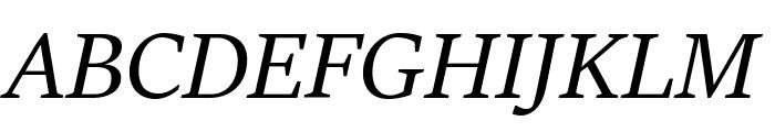 Sitka Heading Italic Font UPPERCASE