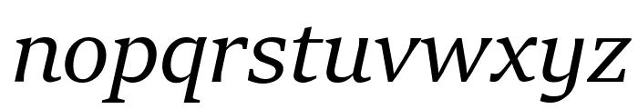 Sitka Heading Italic Font LOWERCASE