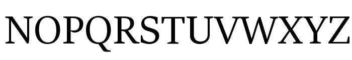 Sitka Heading Font UPPERCASE
