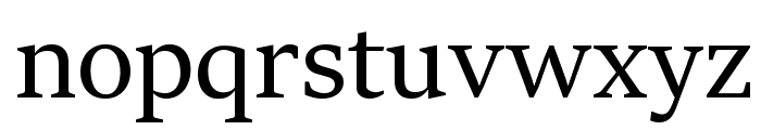 Sitka Heading Font LOWERCASE