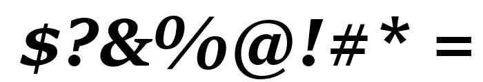 Sitka Subheading Bold Italic Font OTHER CHARS