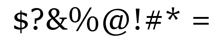 Sitka Subheading Font OTHER CHARS
