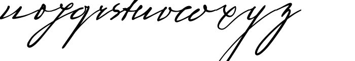 Sigmund Freud Typeface No 1 Font LOWERCASE