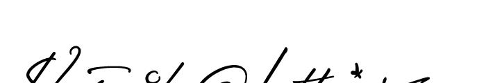Sigmund Freud Typeface No 2 Font OTHER CHARS