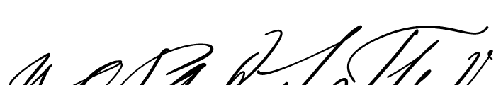 Sigmund Freud Typeface No 2 Font UPPERCASE
