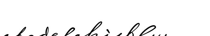 Sigmund Freud Typeface No 2 Font LOWERCASE