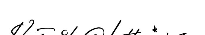 Sigmund Freud Typeface No 3 Font OTHER CHARS