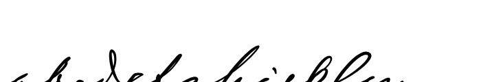 Sigmund Freud Typeface No 3 Font LOWERCASE