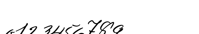 Sigmund Freud Typeface No 4 Font OTHER CHARS