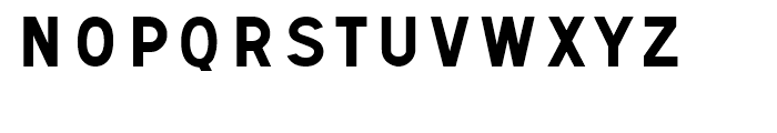 Signal No1 Font LOWERCASE