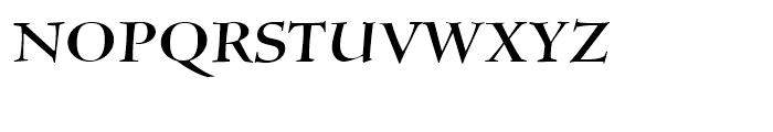 Silentium Roman I Font UPPERCASE