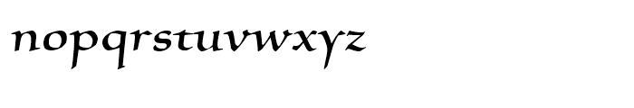 Silentium Roman II Font LOWERCASE