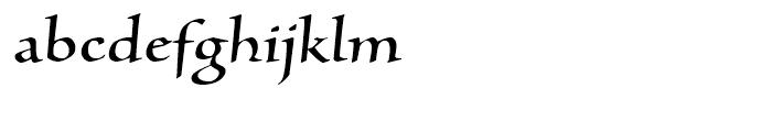 Silentium Roman I Font LOWERCASE