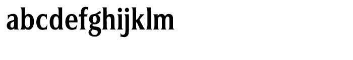 Silverado Bold Condensed Font LOWERCASE