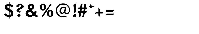 Sinclair Script Medium Font OTHER CHARS