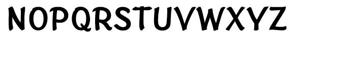 Sinclair Script Medium Font UPPERCASE