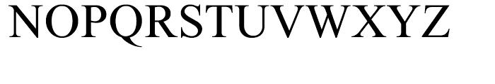 Single Light Font UPPERCASE