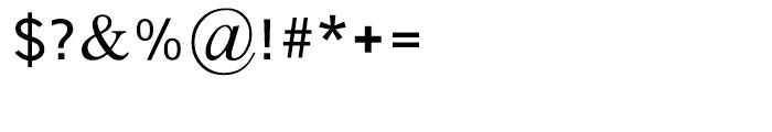 Single Medium Font OTHER CHARS