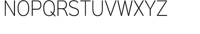 Sinkin Sans Narrow 200 Extra Light Font UPPERCASE