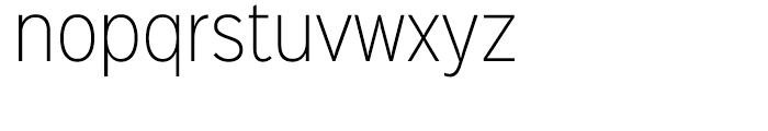 Sinkin Sans Narrow 200 Extra Light Font LOWERCASE