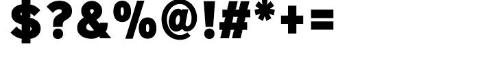 Sinkin Sans Narrow 900 Extra Black Font OTHER CHARS