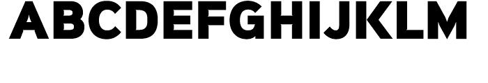Sinkin Sans Narrow 900 Extra Black Font UPPERCASE
