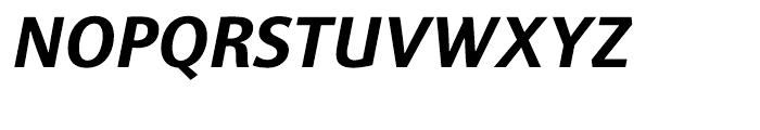 Sinova Bold Italic Font UPPERCASE