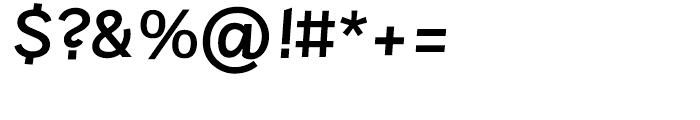 Sintesi Sans DemiBold Italic Font OTHER CHARS