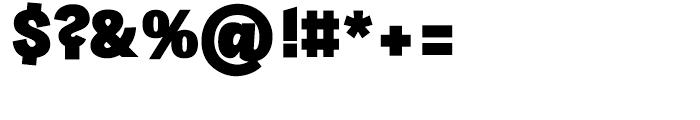 Sintesi Sans Extra Black Font OTHER CHARS