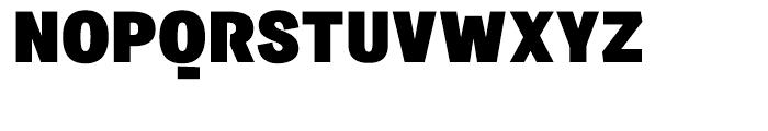Sintesi Sans Extra Black Font UPPERCASE