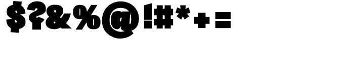 Sintesi Sans Ultra Black Font OTHER CHARS