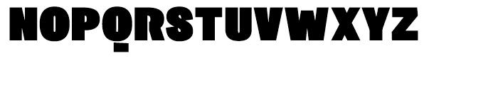 Sintesi Sans Ultra Black Font UPPERCASE