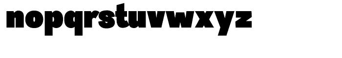 Sintesi Sans Ultra Black Font LOWERCASE