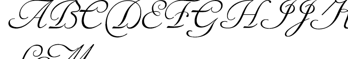 Siren Script II Regular Font UPPERCASE