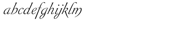 Siren Script II Regular Font LOWERCASE