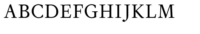 Sirius Regular Font UPPERCASE