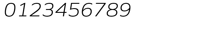 Siro Light Italic Font OTHER CHARS