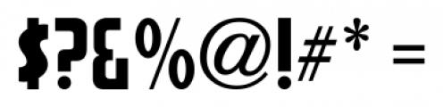 Sign Production JNL Regular Font OTHER CHARS