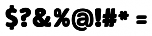 Signor ExtraBold Font OTHER CHARS