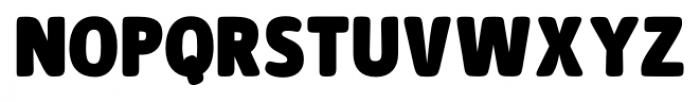 Signor ExtraBold Font UPPERCASE