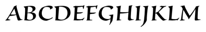 Silentium� Pro Roman II Font UPPERCASE