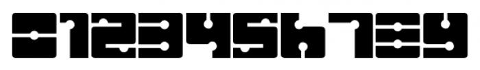 Sistema Regular Font OTHER CHARS