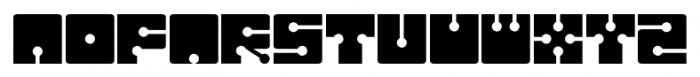 Sistema Regular Font LOWERCASE