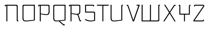 silent alternates light Font UPPERCASE