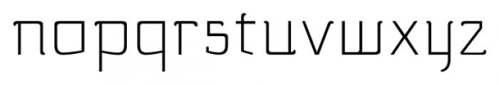 silent alternates light Font LOWERCASE