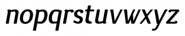 silent bold italic Font LOWERCASE