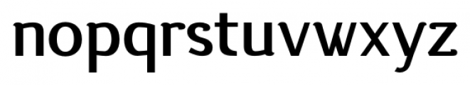 silent bold Font LOWERCASE