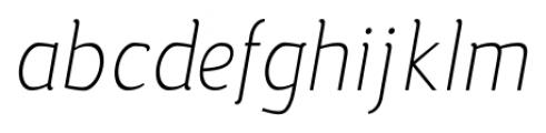 silent light italic Font LOWERCASE