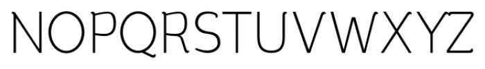 silent light Font UPPERCASE