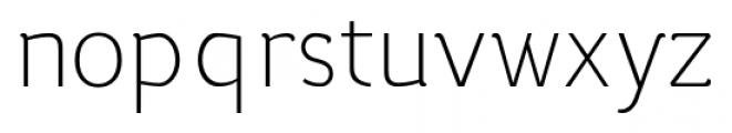 silent light Font LOWERCASE